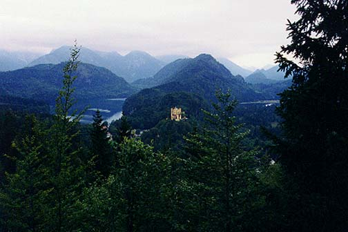 Hohenschwangau, Germany SEPT 1998
